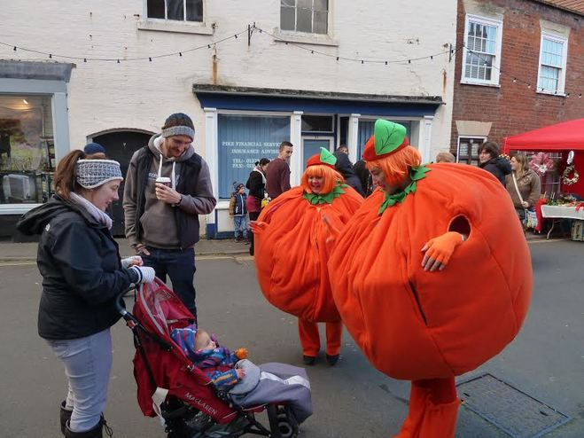same difference, spiced satsumas, christmas entertainment, walkabout, street theatre, comedy act, christmas act, satsuma, costume, mascot, comedy